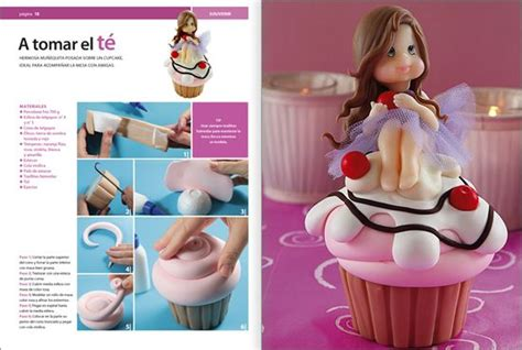 42 best cup cake porcelana fria on cold porcelain clay and petit fours