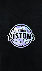 NBA Basketball Team Detroit Pistons phone background (With ...