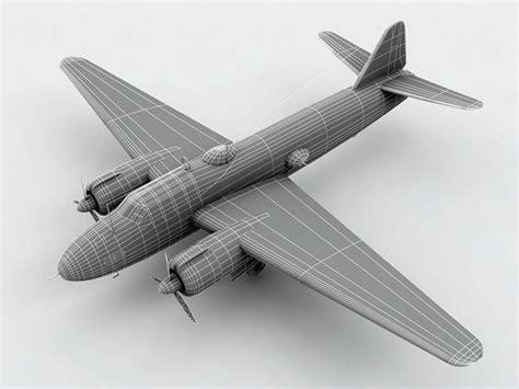 Mitsubishi G4m by 3d Model Mitsubishi G4m Betty Aircraft Cgtrader