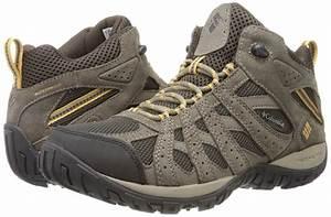 Columbia Redmond Hiking Boot Walking Mens Mid Waterproof ...