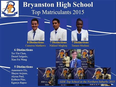 bryanston high school matric results