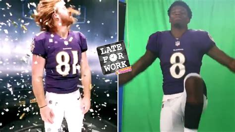 Late for Work 5/21: Lamar Jackson Does Ray Lewis Dance ...