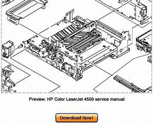 Hp Color Laserjet 4500  4500n  4500dn Service Repair