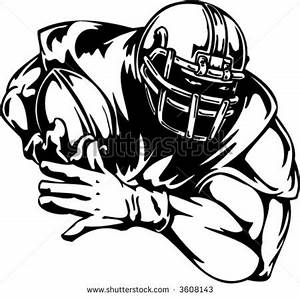 Female American Football Player Clipart - Clipart Suggest