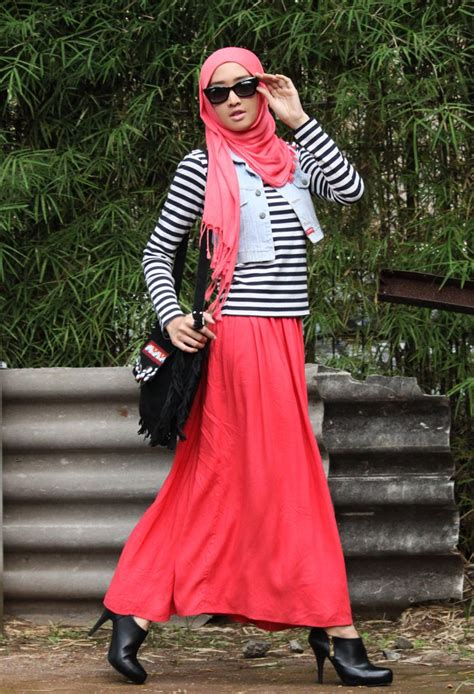 images  stripes  pinterest hijab chic street hijab fashion  stripes