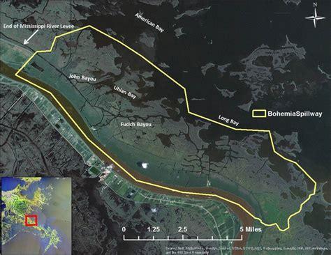 bohemia spillway lake pontchartrain basin foundation