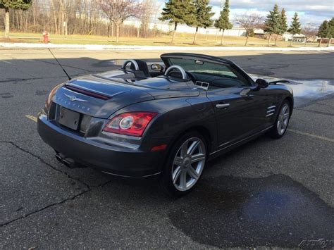 2005 Chrysler Crossfire For Sale by 2005 Chrysler Crossfire Limited Wrecked For Sale