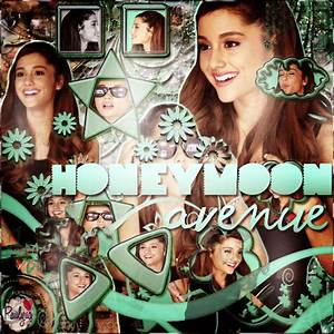 The gallery for --> Honeymoon Avenue Ariana Grande Album Cover