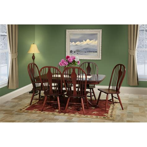 Trailway Manchester 7pc Dining Room Set Stewart Roth