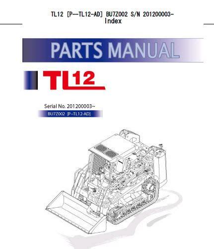 takeuchi tl parts manual track loader buz erepairinfocom