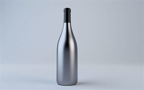 ✓ free for commercial use ✓ high quality images. Metal Bottle Model - FREE PSD MOCKUP
