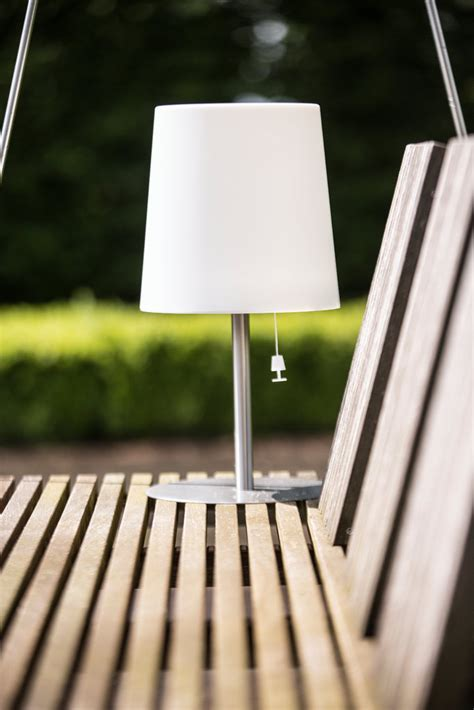 Gacoli Solar LED Tischleuchte Checkmate 2 warmweiß Outdoor