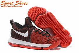 2017 Latest Nike Zoom KD 9 Mens Basketball Shoes For Sale Red Black  Kd 7 Shoes 2017