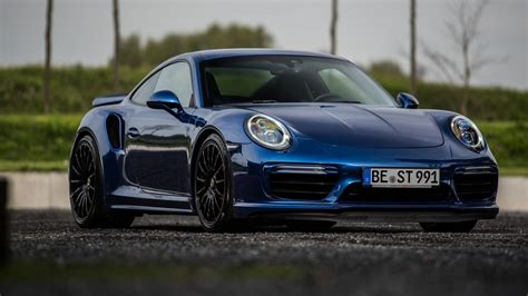 2017 Porsche 911 Turbo S Blue Arrow By Edo Competition
