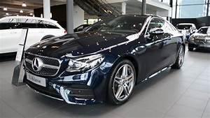 Mercedes Classe E Cabriolet 2017 : 2017 new mercedes benz e 220 d coupe e class exterior youtube ~ Medecine-chirurgie-esthetiques.com Avis de Voitures