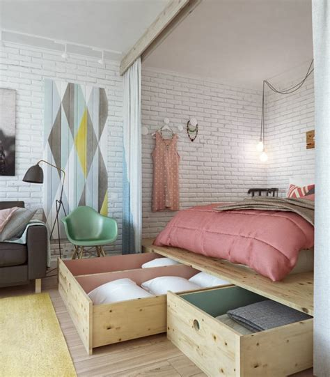 Mini Schlafzimmer Einrichten by Kleines Schlafzimmer Einrichten 80 Bilder Archzine Net