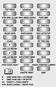 Buick Enclave  2013  - Fuse Box Diagram