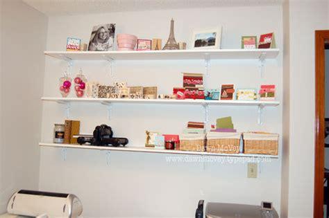 studio wall shelves