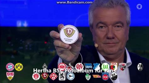 Follow dfb pokal 2021/2022 live scores, final results, fixtures and standings!live scores on livesport.com: DFB Pokal Auslosung 2 Runde 2016/2017 - YouTube