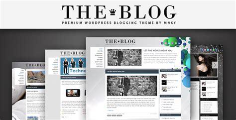 The Blog Wordpress Theme By Mnky