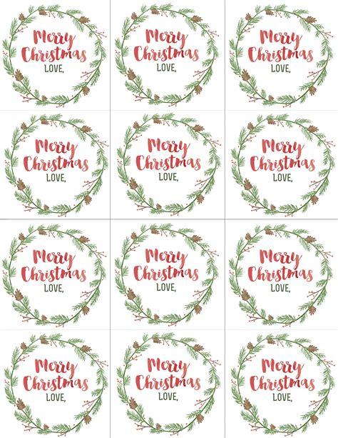 Blank Christmas Gift Tags To Print  Halloween & Holidays Wizard