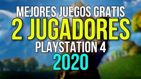 Los juegos multijugador son juegos en los que puedes jugar con más jugadores o contra otros. TOP 10 - MEJORES JUEGOS GRATIS CON MULTIJUGADOR LOCAL PARA TU PS4 (2020) - YouTube