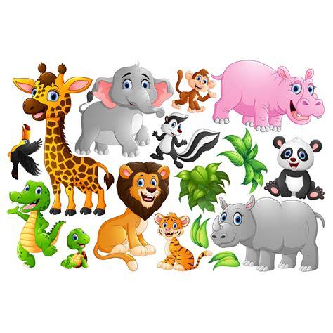 Wandtattoo Kinderzimmer Tiere Groß by Wandtattoo Kinderzimmer Tiere Des Dschungels