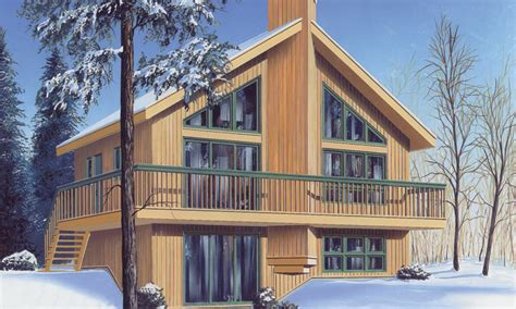 Chalet Style House Plans Swiss Chalet Design, Small Chalet