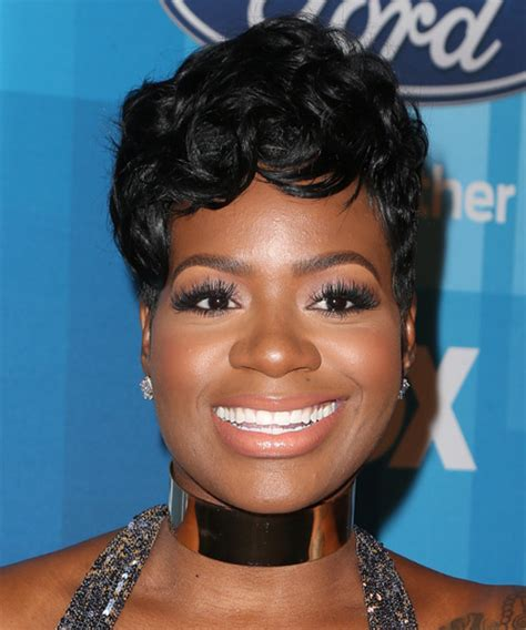 fantasia barrino wavy formal pixie hairstyle with