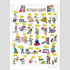Action Verbs Worksheet  Free Esl Printable Worksheets Made By Teachers