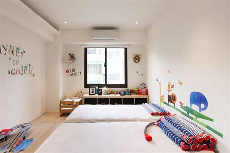 Colorful Modern Apartment For A Family With Small Children : Contemporary Child-friendly Apartment For A Young Urban