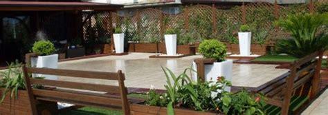arredamento terrazze e giardini pannelli grigliati per giardini e terrazze napoli