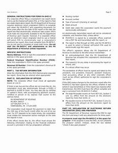 pa 8453 c 2015 pa corporation tax declaration for a With c corporation formation documents