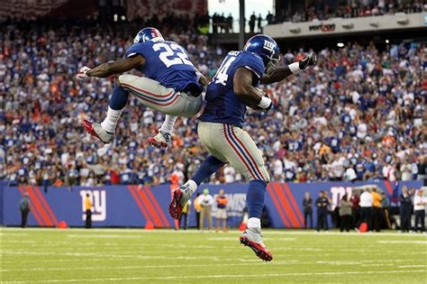 david wilson celebrates touchdown  double backflip gif