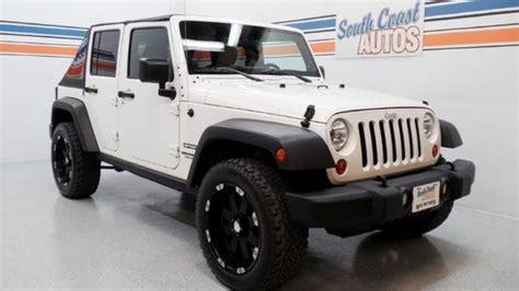 jeep wrangler unlimited sport  sale  houston texas wwwsouthcoastautoscom