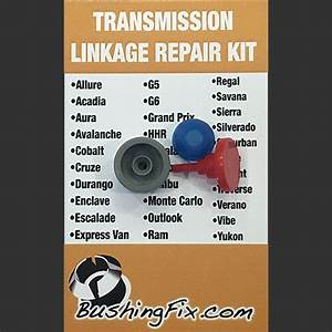Chevrolet Tahoe Transmission Shift Cable Repair Kit W