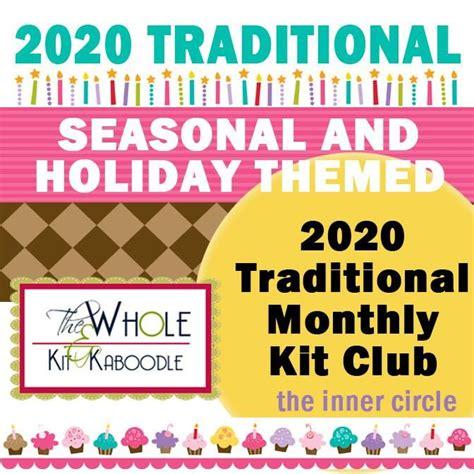 traditional kit club holiday seasonal designs