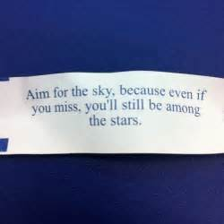 Good Fortune Cookie Sayings