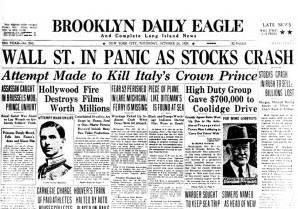 When will the <b>stock market crash</b>?