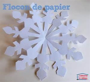 Flocon De Neige En Papier Facile Maternelle : papier la cabane id es part 2 ~ Melissatoandfro.com Idées de Décoration