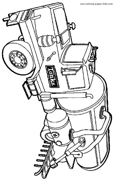 Kleurplaat Machines Landbouw by Truck Color Pages Coloring Pages For