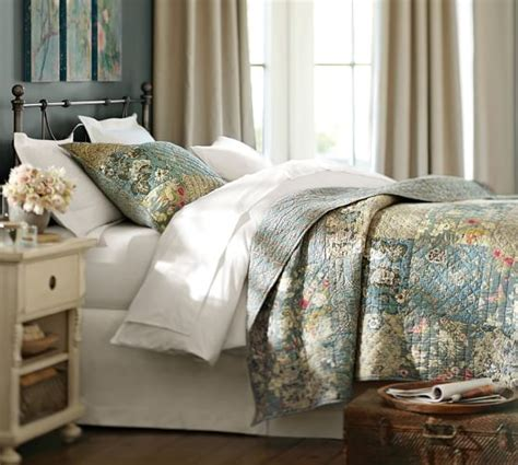 pottery barn quilt neena patchwork quilt sham pottery barn