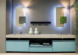 miroir salle de bain lumineux et eclairage indirect en 50 With salle de bain design avec miroir de salle de bain castorama