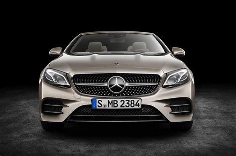 2018 Mercedesbenz Eclass Cabriolet First Look  Motor Trend