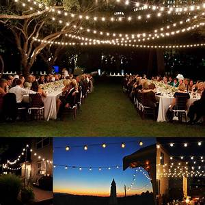 Globe string lights outdoor party all home design ideas