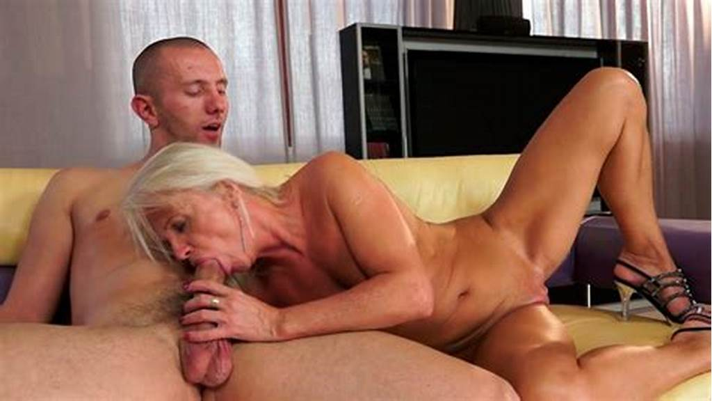#Horny #Granny #Is #Fucking #Passionately #On #A #Couch #In #Old #Young #Porn #Scene