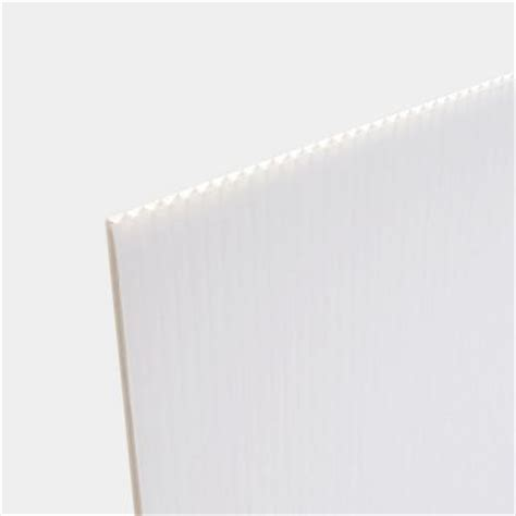 white plastic sheeting home depot 24 in x 36 in white corrugated twinwall plastic sheet
