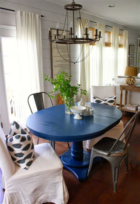 blue dining room table 25 best ideas about blue dining tables on diy
