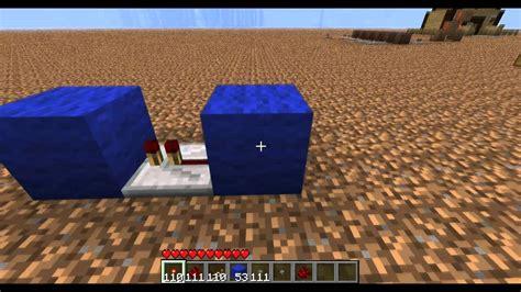 Monostable Circuits Minecraft Beta Youtube