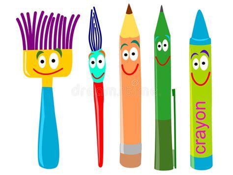 Writing Tools Stock Illustration Illustration Of Cartoon 23973458